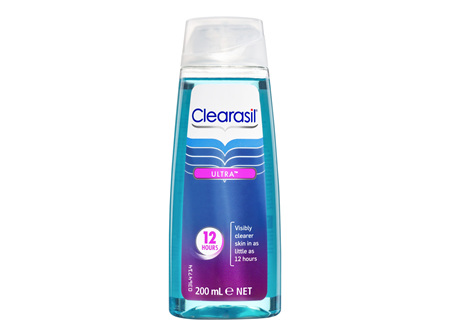 Clearasil Ultra Rapid Action Pimple Cleanse Face Gel Wash 200ml