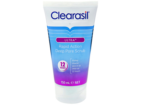 Clearasil Ultra Rapid Action Scrub 150mL