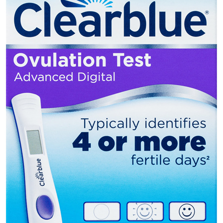 Clearblue Advanced Digital Ovulation Test, Kit of 10 Tests