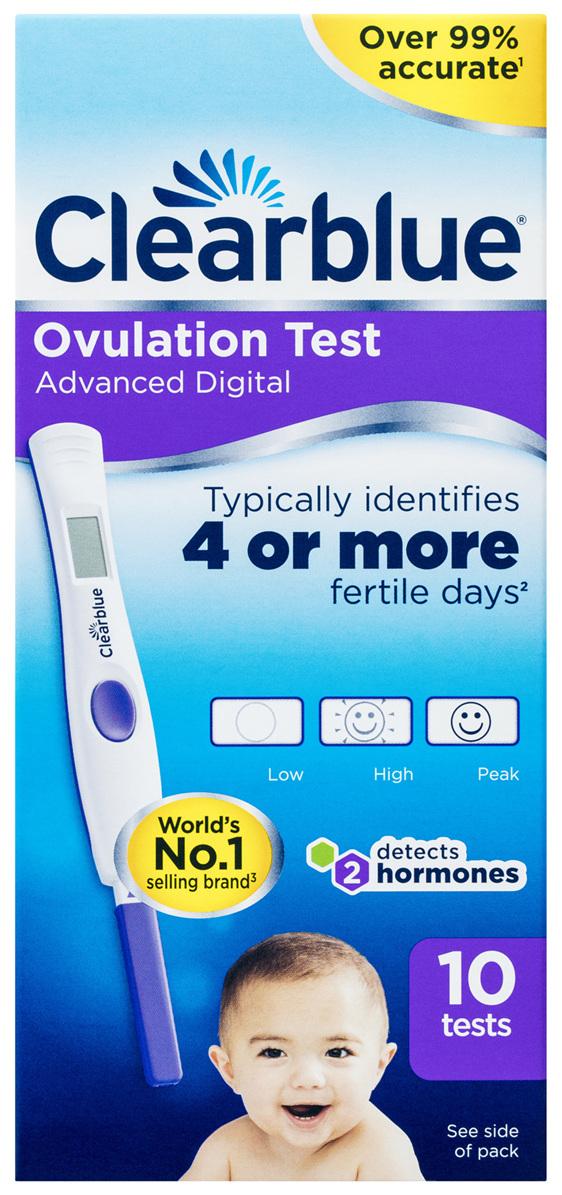 Clearblue Advanced Digital Ovulation Test Kit (OPK) 10 Tests