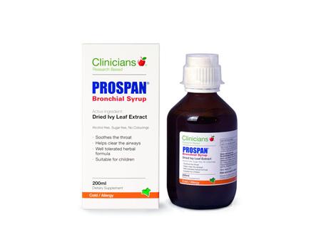 Clinicians Prospan Bronch. Syrup 200ml