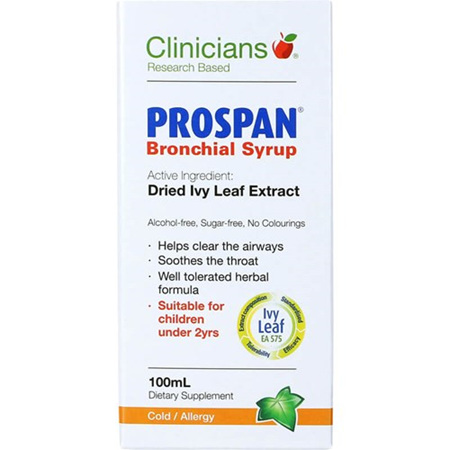 CLINICIANS Prospan Bronchial Syrup 100ml
