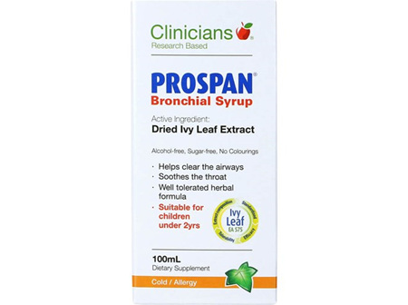 Clinicians Prospan Bronchial Syrup 100ml