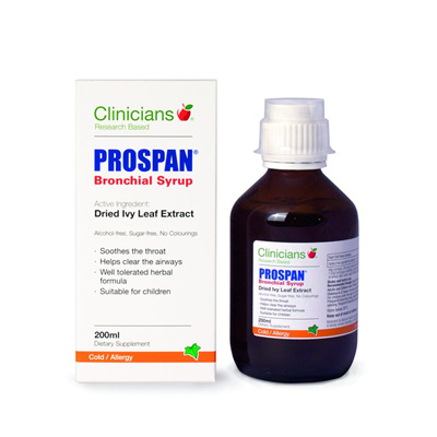 Clinicians - Prospan Bronchical Syrup
