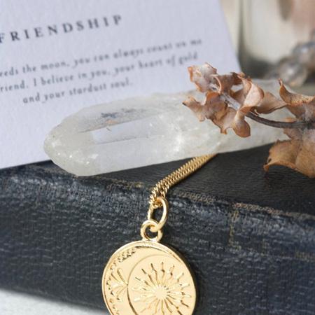 Cloud Nine Friendship Necklace Gold
