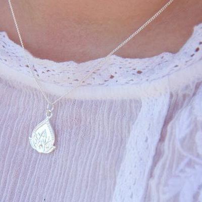 Cloud Nine New Beginnings Necklace Silver
