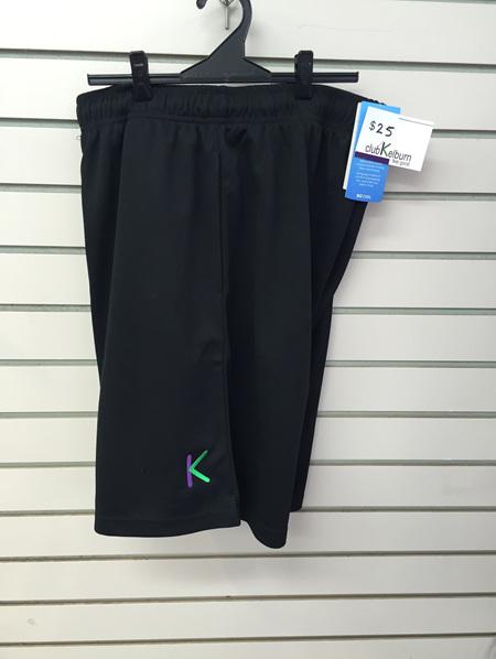 Club K Shorts- black