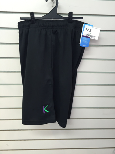 Club K Shorts- black