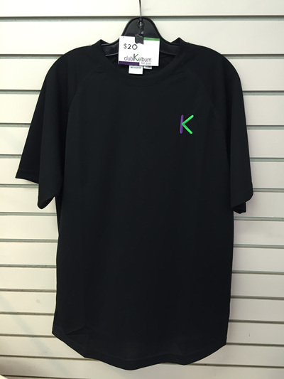 Club K T Shirt- Black