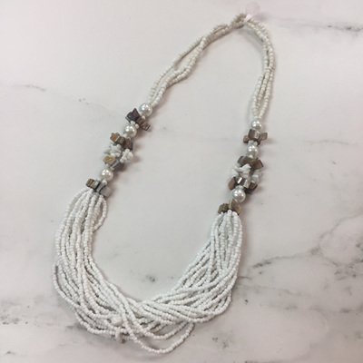 Coastal Necklace - Coconut