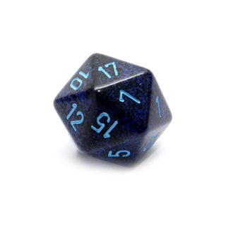 Cobalt' Large Twenty Sided Dice