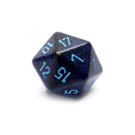 Cobalt' Large Twenty Sided Dice