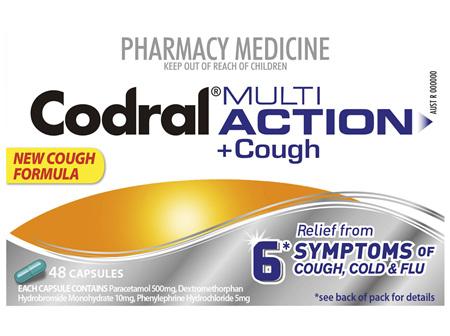 Codral Cold & Flu + Dry Cough 48 Capsules