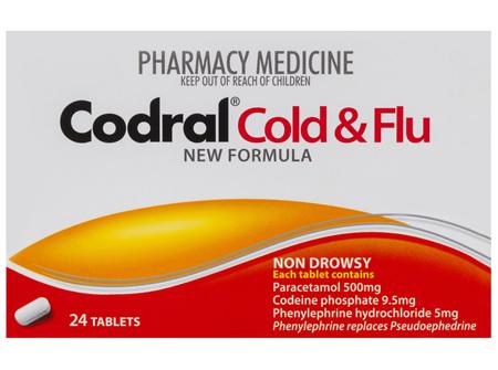 Codral Cold & Flu Tablets 24 Pack