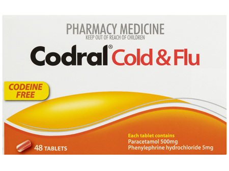 Codral Cold & Flu Tablets 48 Pack