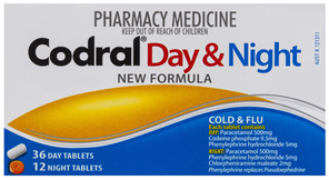 Codral Day & Night 48 Tablets