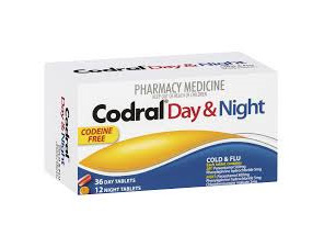 Codral Day & Night Tablet 48s