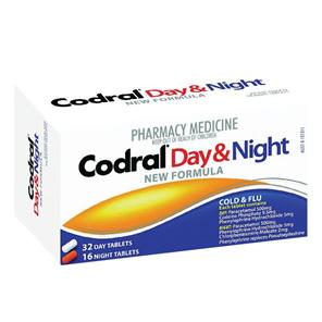 Codral New/F Day & Night Tab 48