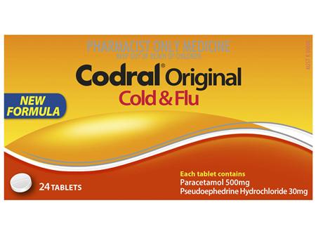 Codral Original Cold & Flu Tablets 24 Pack