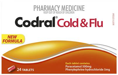 Codral PE Cold & Flu 24 Tablets