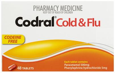 Codral PE Cold & Flu 48 Tablets