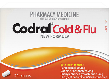 Codral Pe Cold & Flu Tablets 24