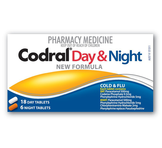 codral day and night instructions