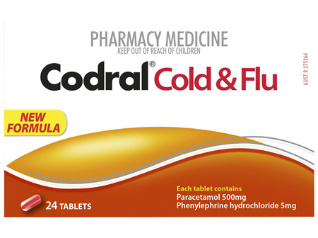 Codral PE Cold & Flu Tablets 24 Pack