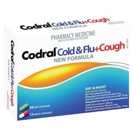 Codral Pe Cold & Flu Tablets Plus Cough Day/Night 48