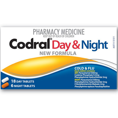 Codral PE Day & Night - 24 tablets