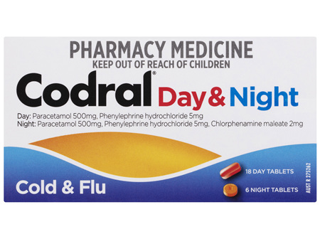 Codral PE Day & Night Tablets 24 Pack