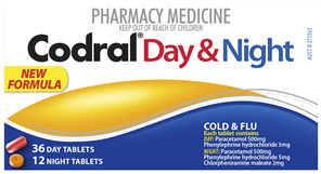 Codral PE Day & Night Tablets 48 Pack