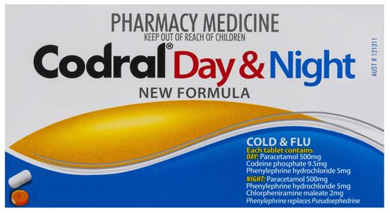 Codral Pe Day/Night Tabs 24
