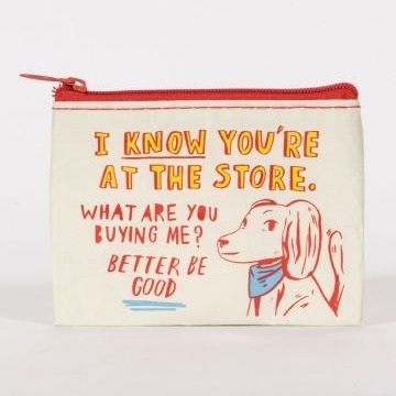 Coin Purse - At The Store