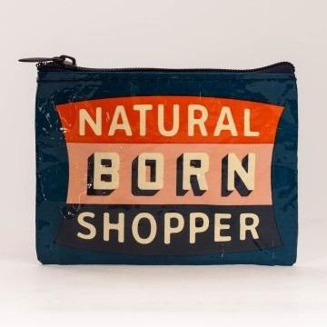Coin Purse - Natural Born Shopper