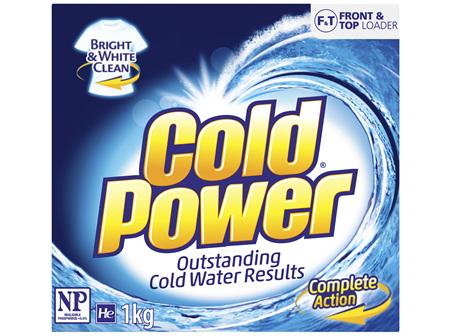 Cold Power Complete Action, Powder Laundry Detergent, 1kg