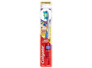 Colgate 360°Advanced active plaque removal Toothbrush Medium