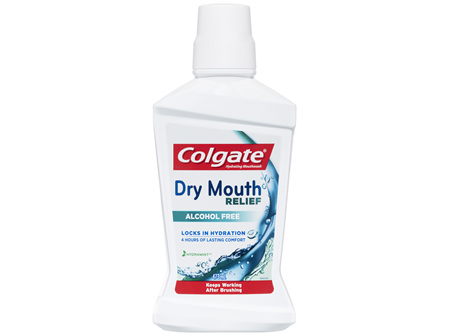 Colgate Dry Mouth Relief Alcohol Free Mouthwash 473mL