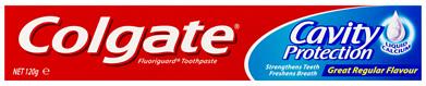 Colgate Maximum Cavity Protection Toothpaste, 120g, Great Regular Flavour, for Calcium Boost
