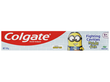 Colgate Minions Kids Toothpaste Mint Gel 6+ years 110g