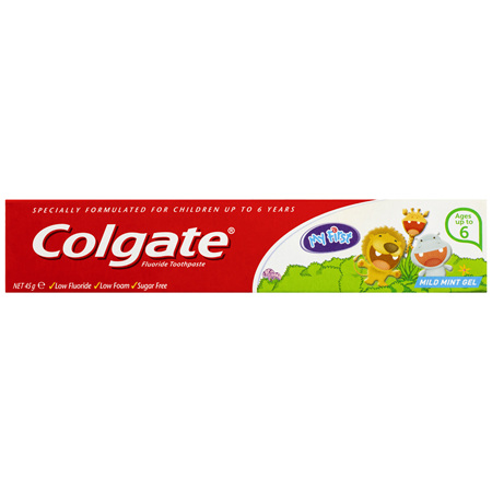 Colgate My First Mild Mint Gel Kids Toothpaste up to 6 years 45g