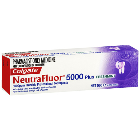 Colgate NeutraFluor 5000 Plus Toothpaste Freshmint 56g