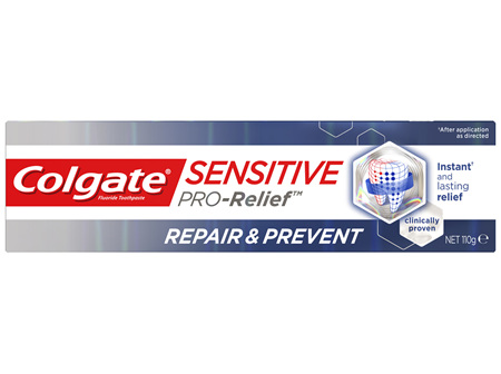 Colgate Sensitive Pro-Relief Repair & Prevent Toothpaste, 110g, Clinically Proven Sensitive Teeth