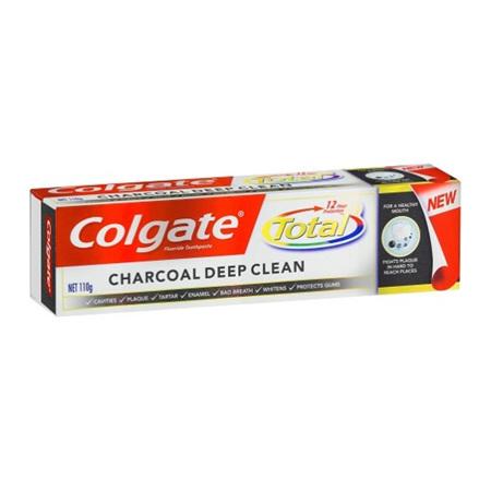 COLGATE Total Charcoal Deep Cln110g