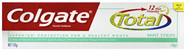 Colgate Total Mint Stripe Fluoride Toothpaste 12H antibacterial protection Gel Toothpaste 110g