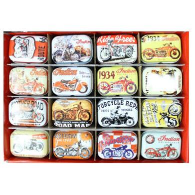 Collectables Tin Box- Motobikes