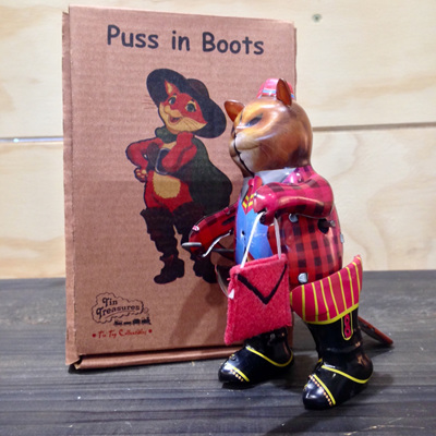 Collectors Toy - Tin Puss in Boots