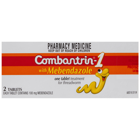 Combantrin -1 Tablets 2 Pack