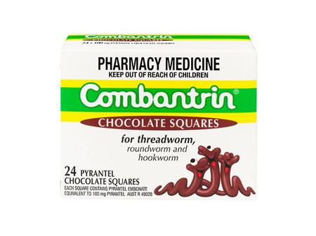 Combantrin Chocolate - 24 squares