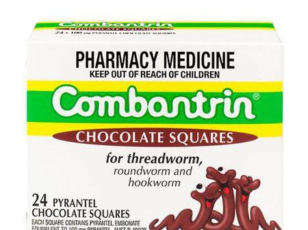 Combantrin Chocolate Squares 24pieces